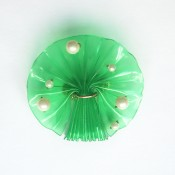 The finished Brooch Tree from Plastic Bottle
