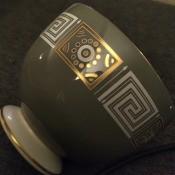 A decorative china cup.